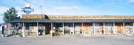 Motel velho em Tonopah, Nevada fotografia de stock