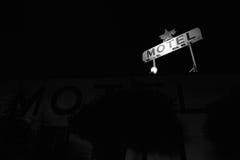 Motel-Zeichen Stockbild