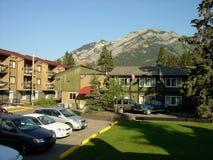 Moteles de Banff Foto de archivo libre de regalías