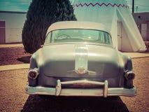 Motell Arizona för tappningbilvigvam fotografering för bildbyråer