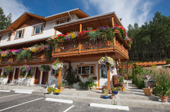 Motels in Kootenay National Park Stock Image