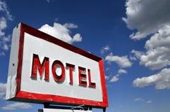 motelu znak Obrazy Royalty Free