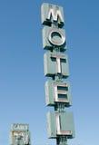 Motelu znak zdjęcia stock