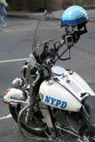 Moter-Zyklus New- Yorkpolizei Stockfotos