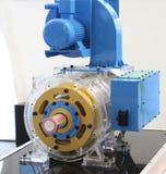 Moteur à courant alternatif asynchrone avec la vitesse de contrôle de fréquence photographie stock