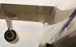 Moteur à réaction des avions d'Antonov Photographie stock