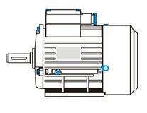 moteur électrique Photo stock