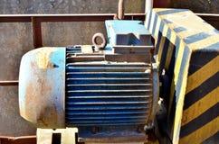 Moteur électrique pour l'équipement industriel moderne image libre de droits
