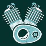 Moteur illustration stock