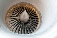 Moteur aérien de turbine Images libres de droits