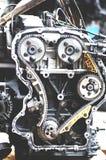 Moteur avec la chaîne de synchronisation photo stock
