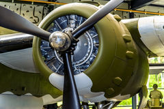 Moteur B-25 Photos libres de droits