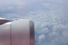Moteur d'avion Photos stock