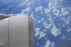 Moteur d'avion Photo stock