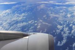 Moteur d'avion Photo libre de droits