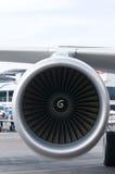Moteur d'avion de passager photo libre de droits