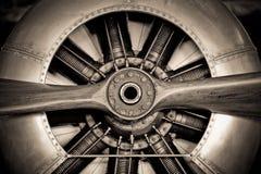 Moteur d'avions Photo libre de droits