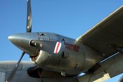Moteur d'avions de turbine Photos libres de droits