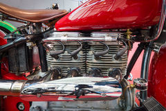 Moteur d'Indien de moto quatre, 1939 Photo libre de droits