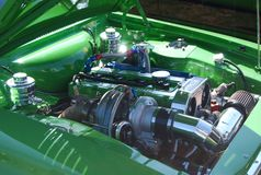 Moteur de Cosworth Images libres de droits