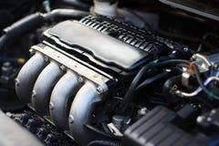 moteur de 4 cylindres Photographie stock