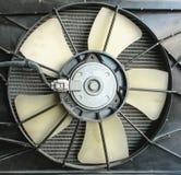 Moteur de fan de radiateur Images stock