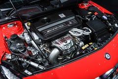 Moteur de Mercedes-Benz A45 AMG photo stock