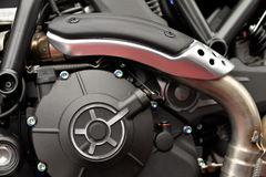 Moteur de moteur de moto Image stock