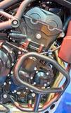 Moteur de moto Photographie stock