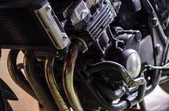 Moteur de moto Photo libre de droits