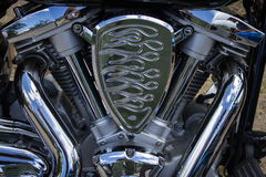 Moteur de moto images stock