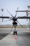 Moteur de propulseur d'avion Images libres de droits