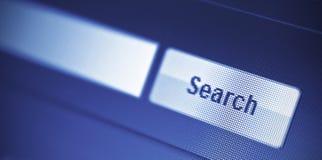 Moteur de recherche Photographie stock