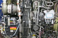 Moteur de turbine d'avion Photos libres de droits