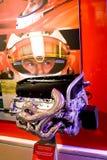 Moteur de véhicule de sport de la formule 1 Photographie stock