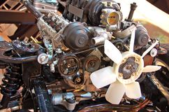 Moteur de véhicule Photos stock