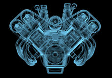 Moteur de voiture Image stock