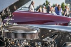 Moteur de voiture classique photo stock