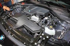 Moteur de voiture de BMW images stock