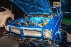 Moteur de voiture reconstruit de vintage (zone de performances) Photos stock