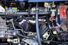 Moteur diesel Photo libre de droits
