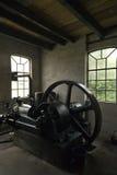 Moteur diesel historique admirablement reconstitué Photo stock