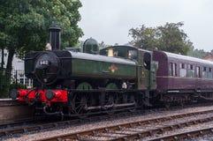 Moteur du sud de chemin de fer de Devon Steam Photographie stock libre de droits