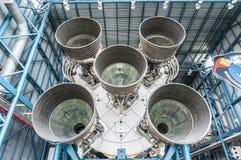 Moteur en V de Saturn Images libres de droits