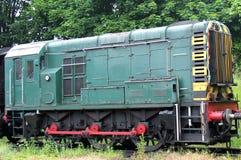 Moteur ferroviaire de train photographie stock libre de droits