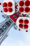 Moteur-fusées Photos libres de droits