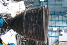 Moteur-fusées de Saturne V Images libres de droits