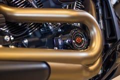 Moteur modèle de Milwaukee 8 de winth de Harley Davidson FXDR 114 photos stock