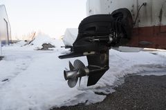 Moteur sur la neige photos libres de droits