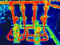 Moteurs électriques pour l'image infrarouge photos stock